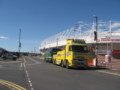 Towed to the Stadium of Light