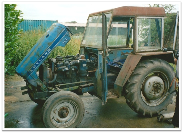 Leyland 154 Tractor Classic Connections