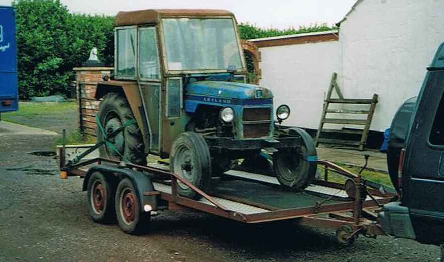 Leyland 154 tractor manual for sale