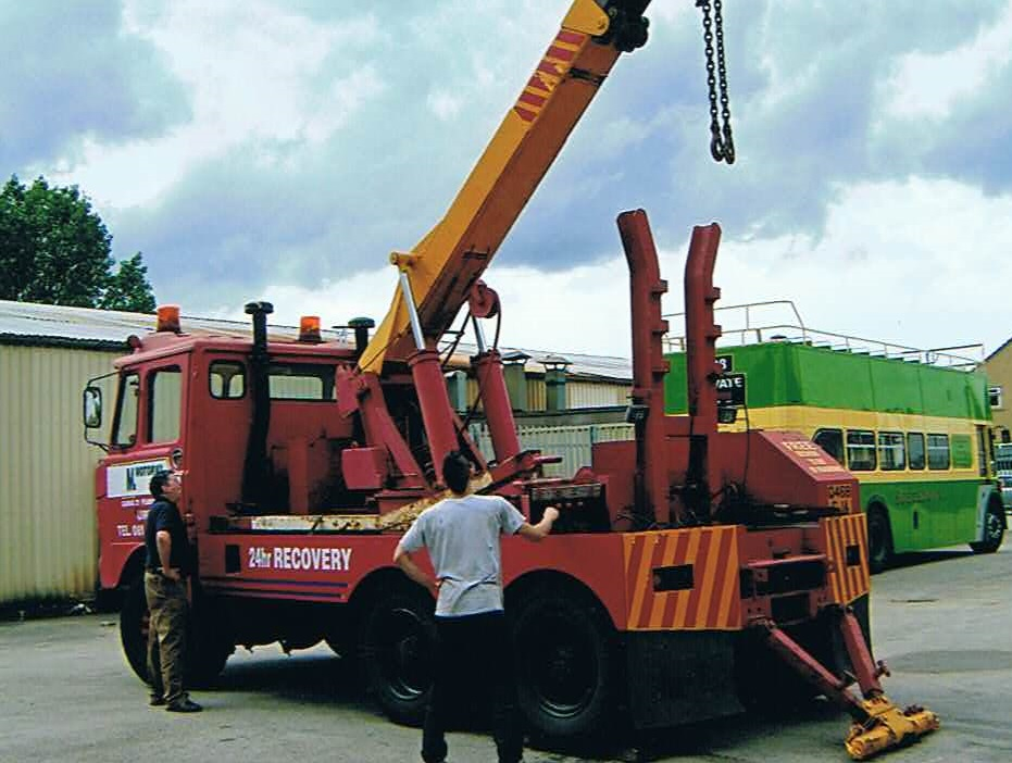 Foden S80 Crane Lorry – Classic Connections