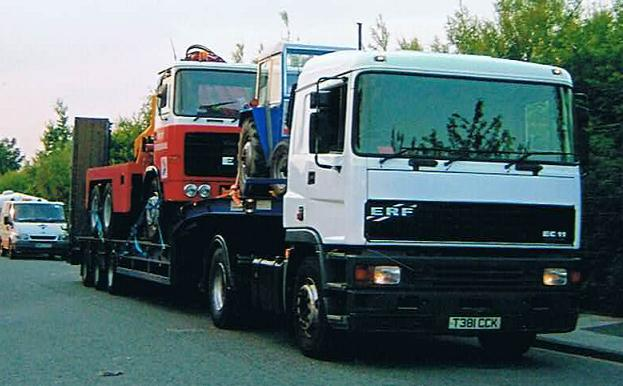 ERF EC11 Tractor Unit / King Low Loader | Classic Connections