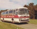 1971 - Bristol Omnibus. Bristol Greyhound. Leyland Leopard Plaxton Panorama Elite
