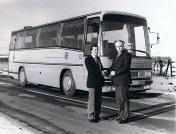 1982 - Glenton Tours. Volvo. Plaxton 3200.
