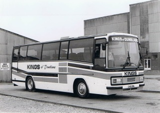 1985 - Kings of Dunblane. Bedford Plaxton 3200.