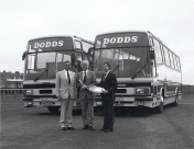 Dodds of Troon. Scania 112 Plaxton 3500.