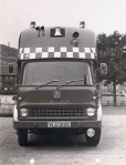 Front View. Control Vehicle. M.P.BW.
