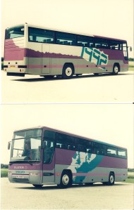 Selection of Plaxton Concepts and new coach designs